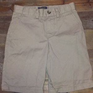 Ralph Lauren Boys Khaki Shorts Size 6